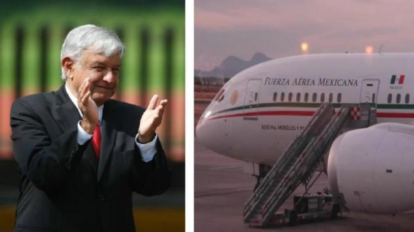 El 1 de diciembre, en cuanto AMLO tome protesta se licitará el avión presidencial