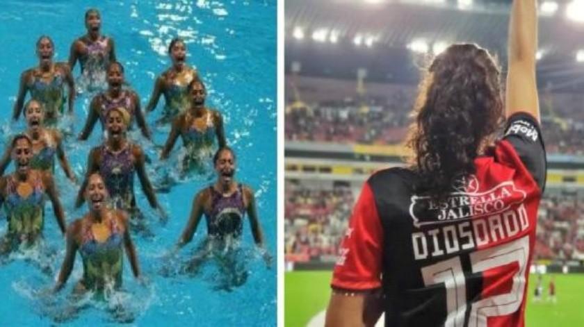 Sin su barra y con medallista Nuria Diosdado, los ''amuletos'' para triunfo de Atlas