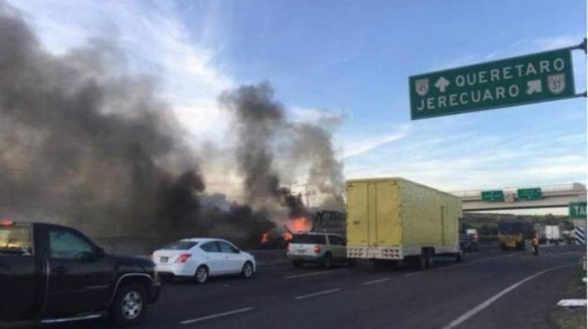 Mueren 8 por enfrentamiento de federales y grupo armado en Guanajuato