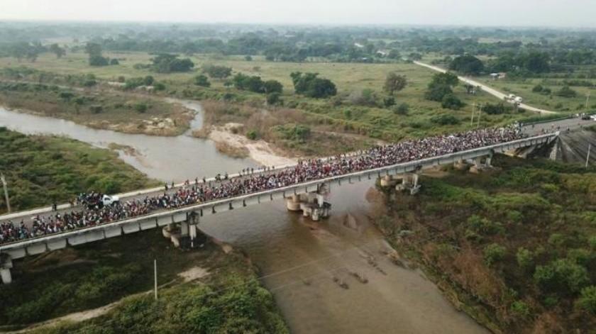 Gobierno de México entrega las primeras 111 CURP a miembros de la Caravana