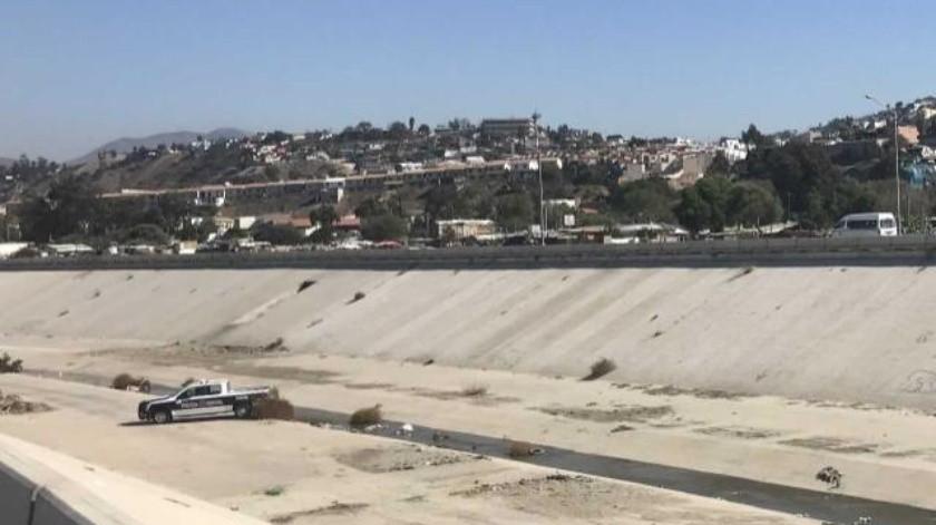 Muerto en el canal del Río Tijuana y restos en la colonia Altiplano fueron encontrados este sábado