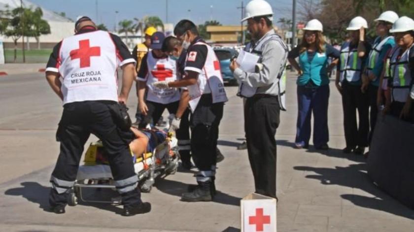 Evacuan a 400 en 3 minutos en Palacio Municipal de Cajeme