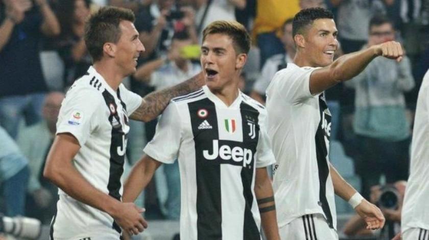 Cristiano Ronaldo participa con 3 asistencias en el triunfo de Juventus contra Napoli