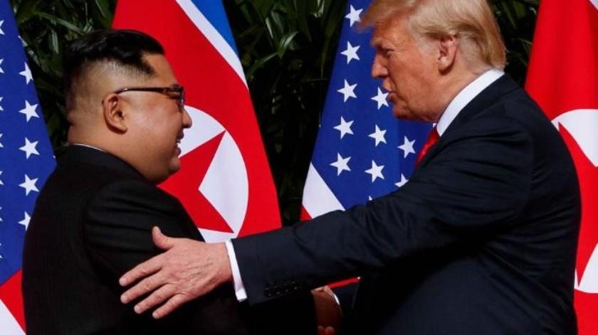 """""""Me escribió cartas hermosas y luego nos enamoramos."""": Trump habla de Kim Jong"""