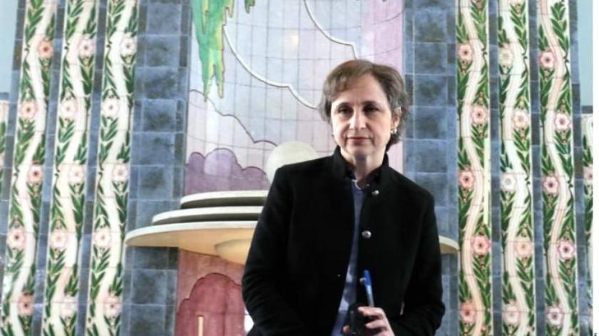 AMLO considera avance que Carmen Aristegui regrese a la radio y señala que nunca se debe censurar a los medios