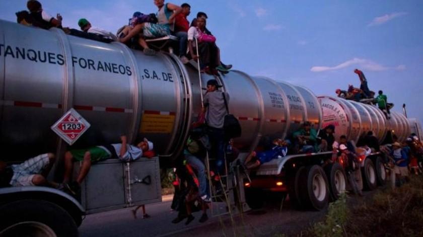 """""""Nuestros militares te están esperando"""": El mensaje de Donald Trump a los migrantes de la caravana"""