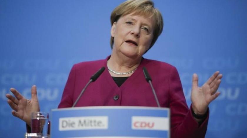 Oficial: Angela Merkel confirma que no se presentará a la reeleción