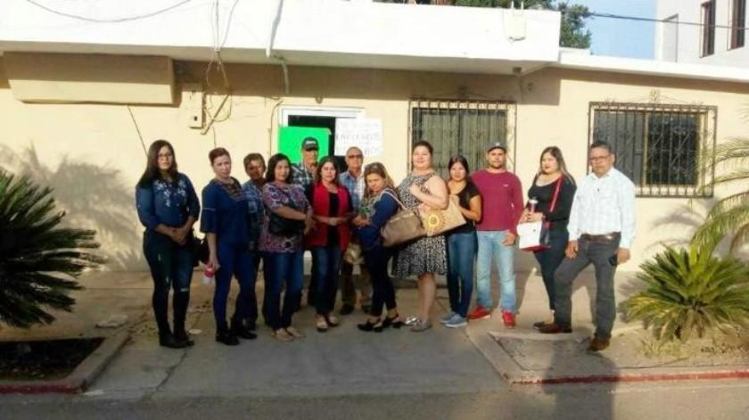 Exigen trabajadores de San Ignacio pago de 30 quincenas