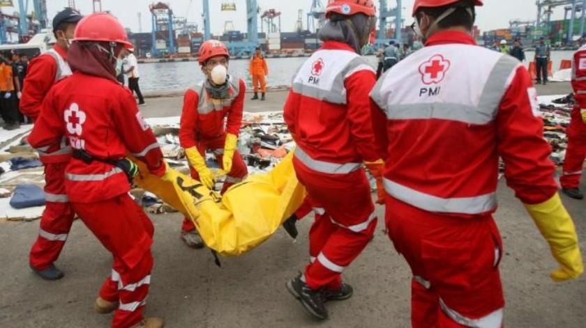 Identifican a víctimas de accidente aéreo de avión Lion Air en Indonesia
