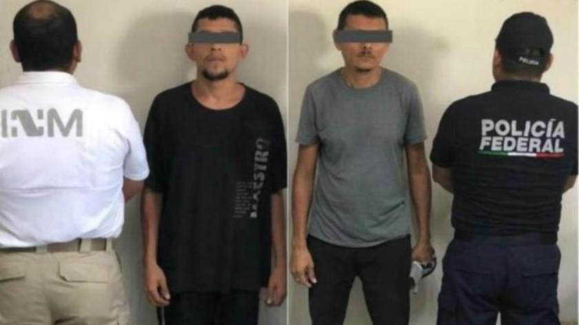 Dos hondureños que viajaban en la caravana son detenidos por tener órdenes de captura
