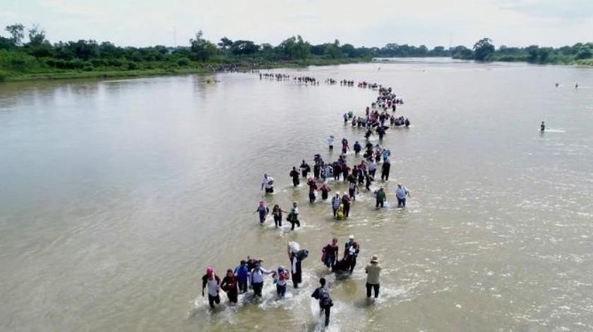 Avanzan en el País 3 caravanas migrantes y se acercan 3 más