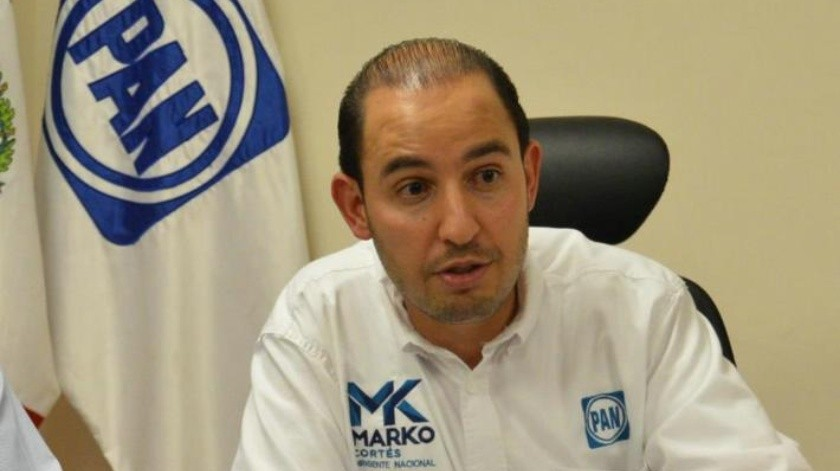 Apuesta Marko Cortés por un PAN cercano a la gente