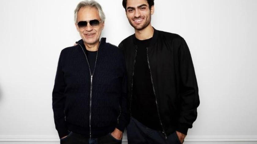Canta Andrea Bocelli con su hijo Matteo en nuevo disco