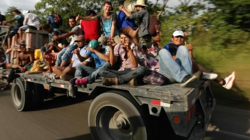 """No somos asesinos"" asegura caravana migrante a Donald Trump"