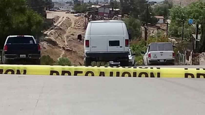 Hombre ejecutado en Ejido Matamoros de Tijuana