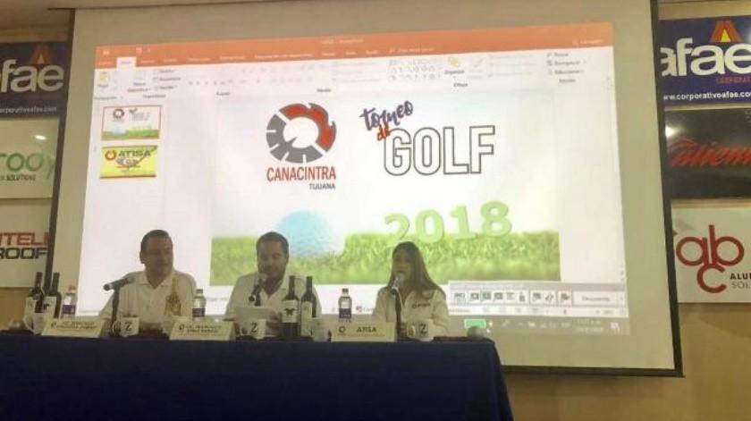 Canacintra anuncia su torneo de golf edición 2018