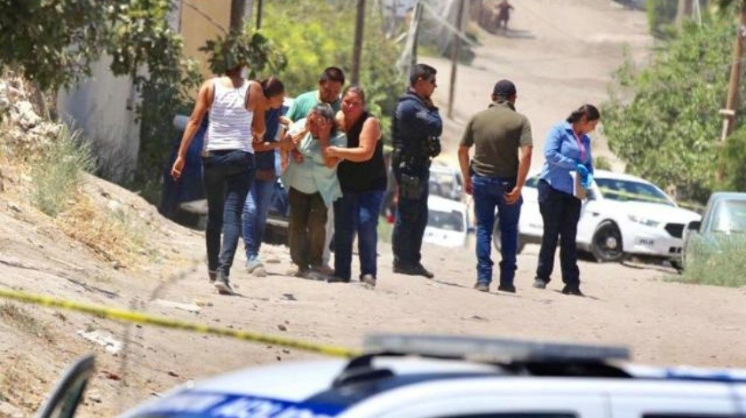 Matan a dos hombres en el Ejido Matamoros de Tijuana
