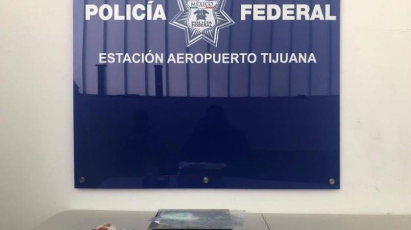 Decomisan en Aeropuerto de Tijuana Fentanilo