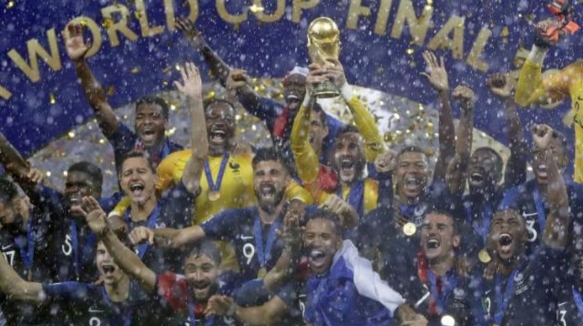 Francia ¡Bicampeón!