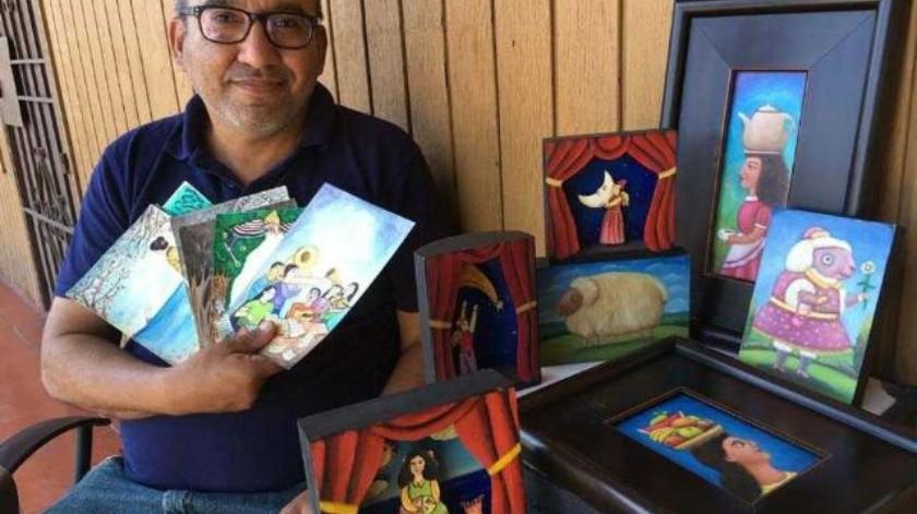 Esaú Andrade, creador de la imagen del 15º Festival Ópera en la Calle