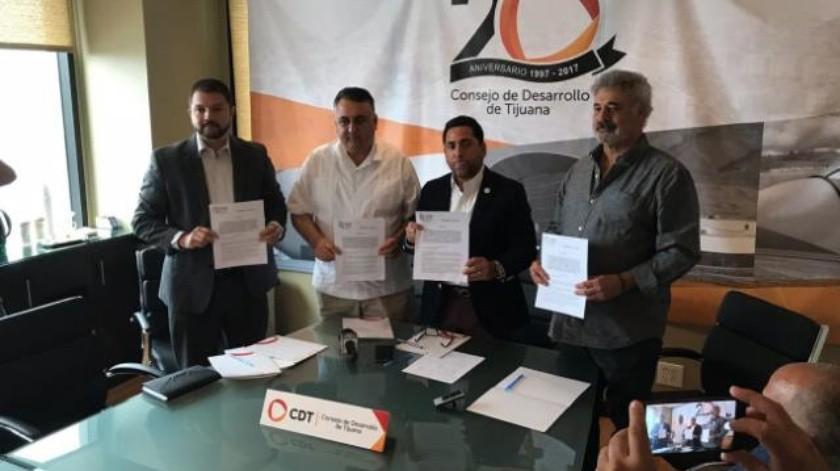 Firman convenio de colaboración CDT y Cemdi