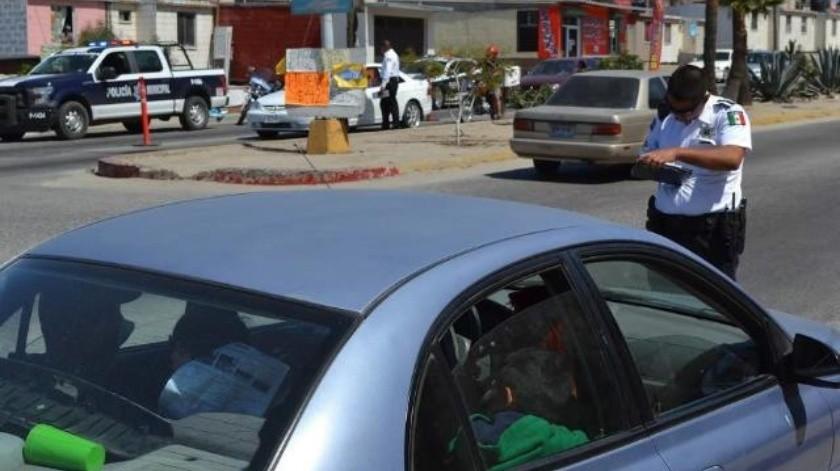 Atiende Tránsito Municipal más de 2 mil 600 hechos automovilísticos durante primer semestre del año