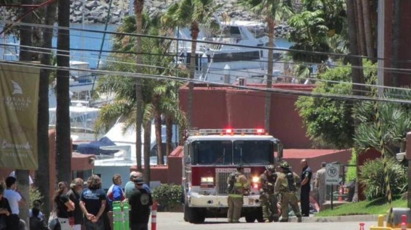 Evacuan a 300 personas tras incendio ocurrido en un hotel de Ensenada