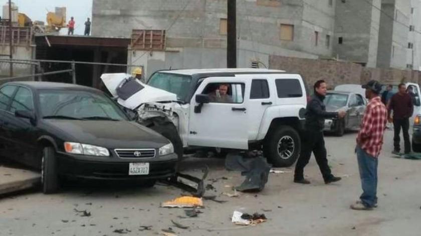 Muere hombre atropellado sobre el bulevar Popotla