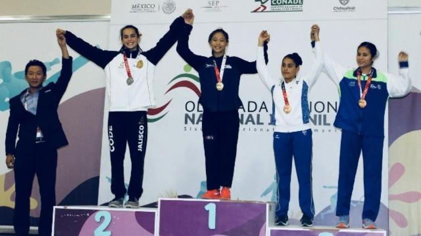 Alison Noemí Hernández  se lleva el bronce en Formas de Taekwondo
