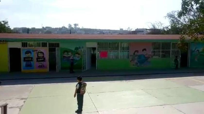 Roban ex alumnos 14 veces un preescolar