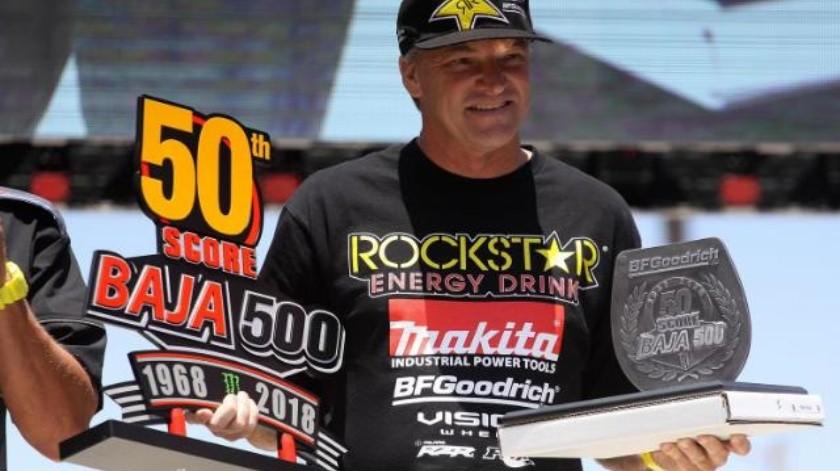 Oficializan triunfo de MacCachren en Baja 500