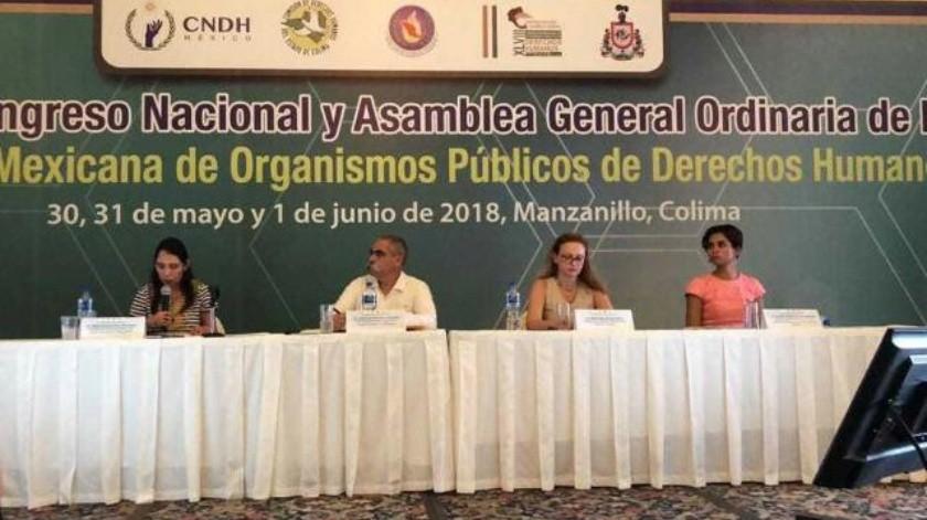 Participa Cedhbc en Congreso Nacional de Organismos de Derechos Humanos