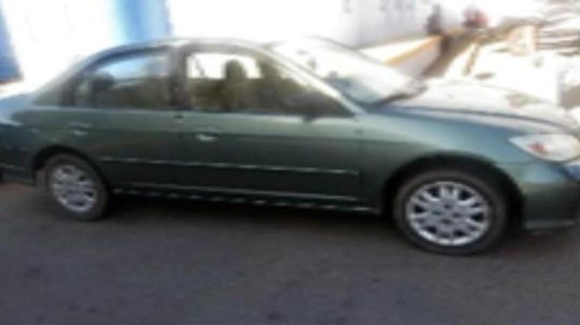 Intercepta PEP a hombre con vehículo robado en 2005