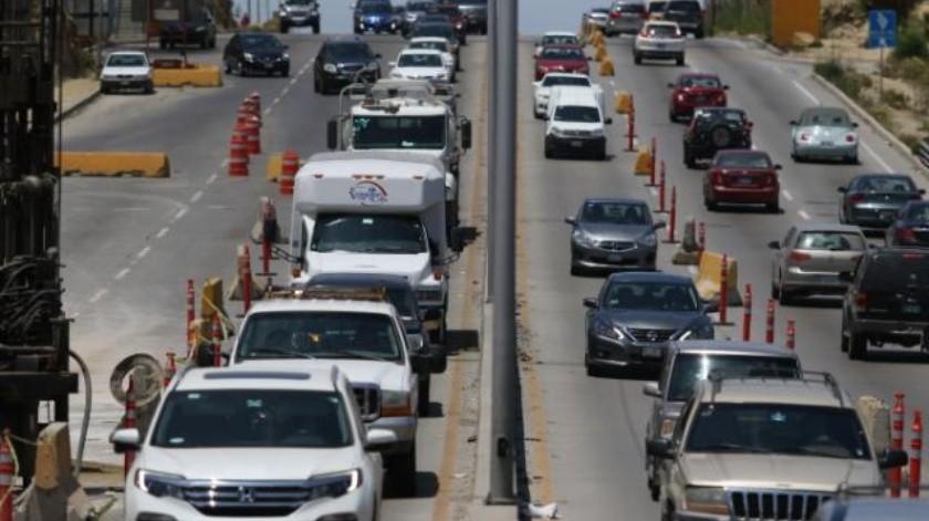 Turistas aún no se quejan por caos vial en Tijuana: Secture