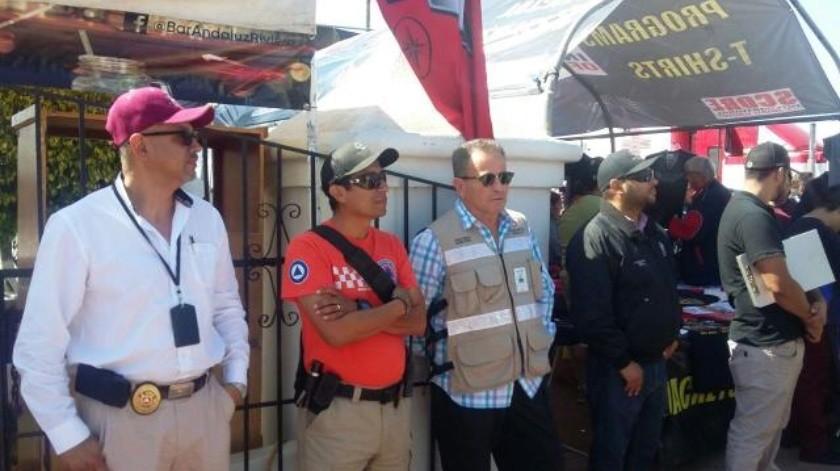 Reitera Protección Civil Medidas de Seguridad por Baja