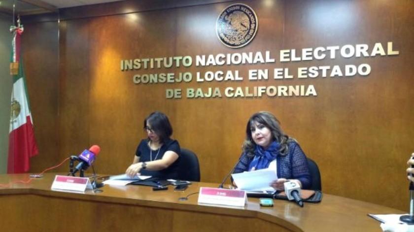 Tendrán debate organizado por el INE candidatos a senadores por BC