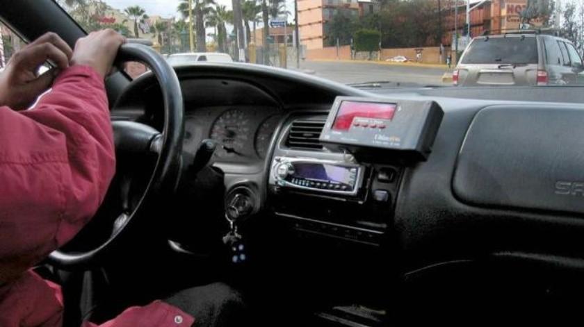 Buscan reimplementar un taxímetro digital en taxis libres de TIJ