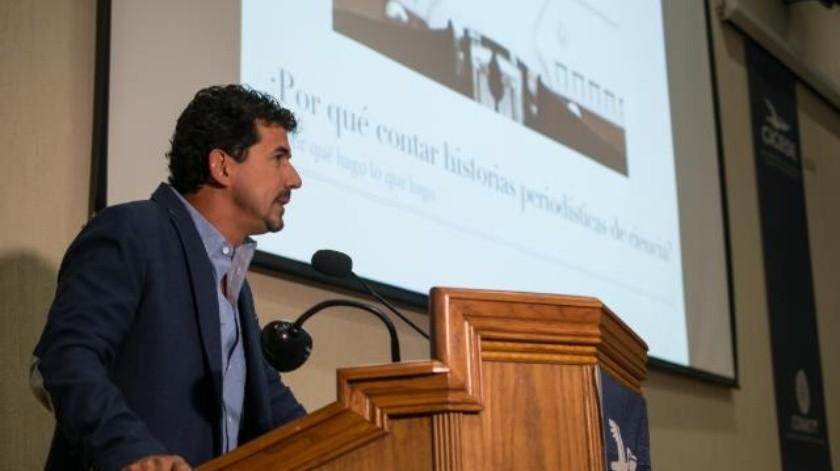 Por un periodismo de ciencia que aporte al debate: Iván Carrillo