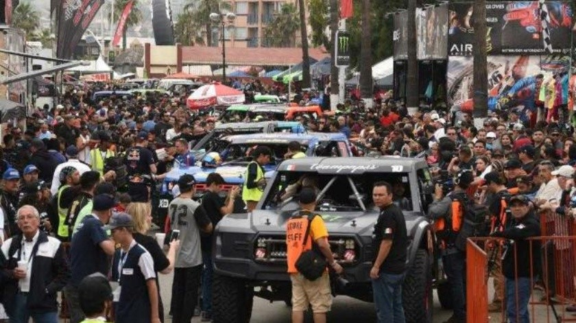 Exhorta Protección Civil a respetar medidas preventivas durante la revisión de la Baja 500