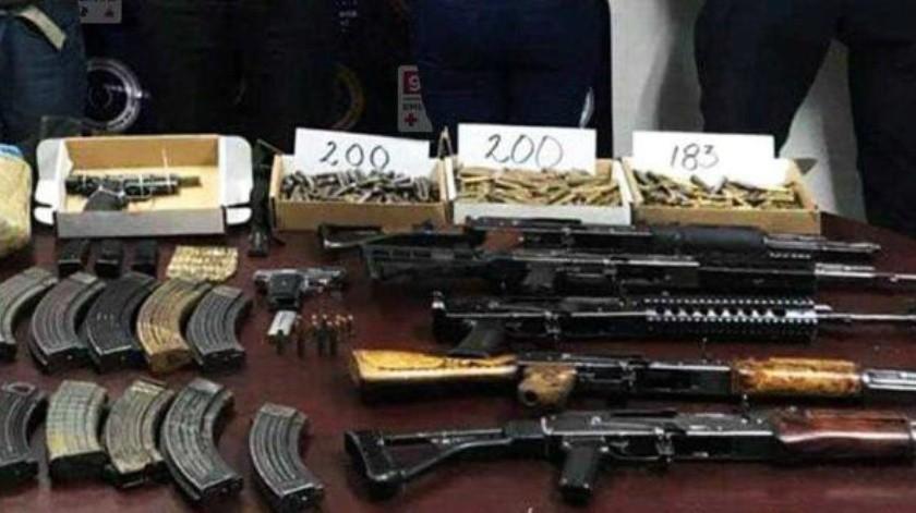 Decomisa PEP más de 170 armas de fuego en BC
