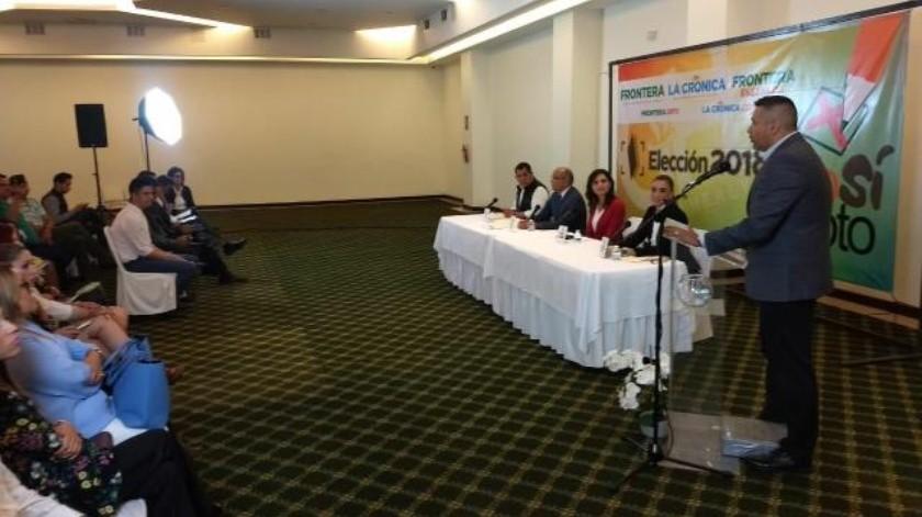 Candidatos dan sus propuestas en materia de seguridad