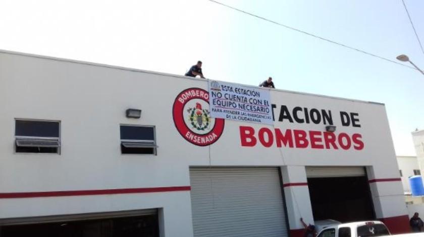 Falta de equipo limita labor de Bomberos en 2 estaciones