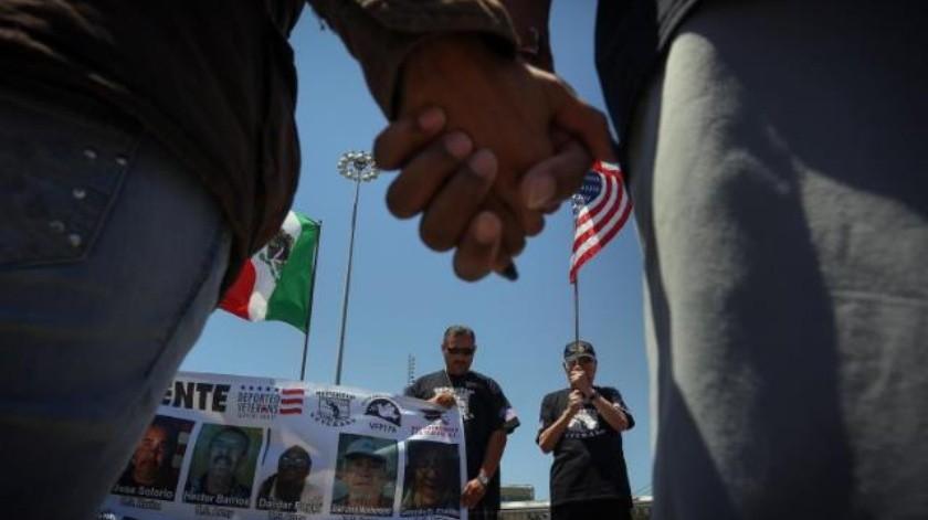 Solicitan veteranos regresar con vida a Estados Unidos