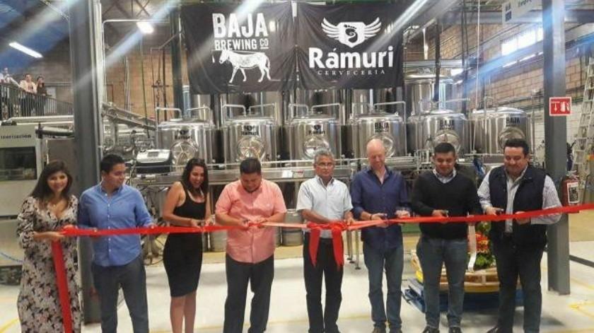 Inauguran cervecería Bajamuri con inversión cercana a los 40 mdp