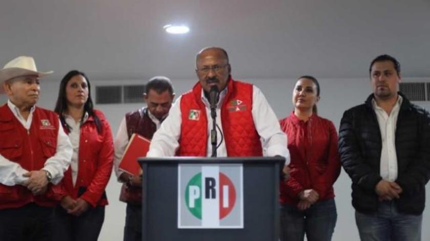 Reconoce PRI enojo de la población hacia el partido