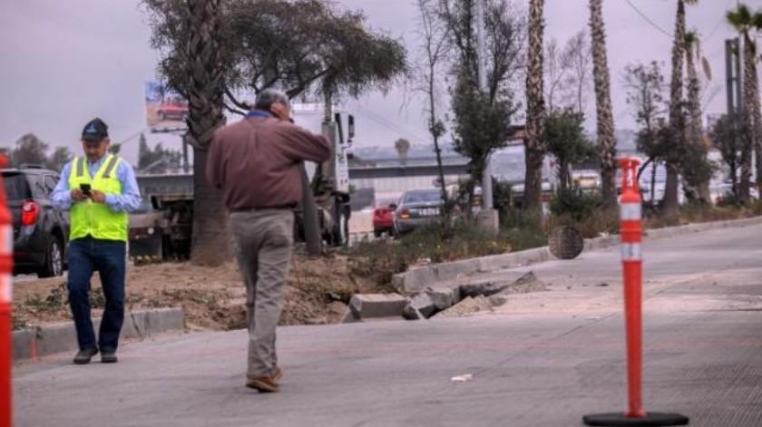 Cerrarán tramos de la Vía Rápida cerca de un mes por colapsos