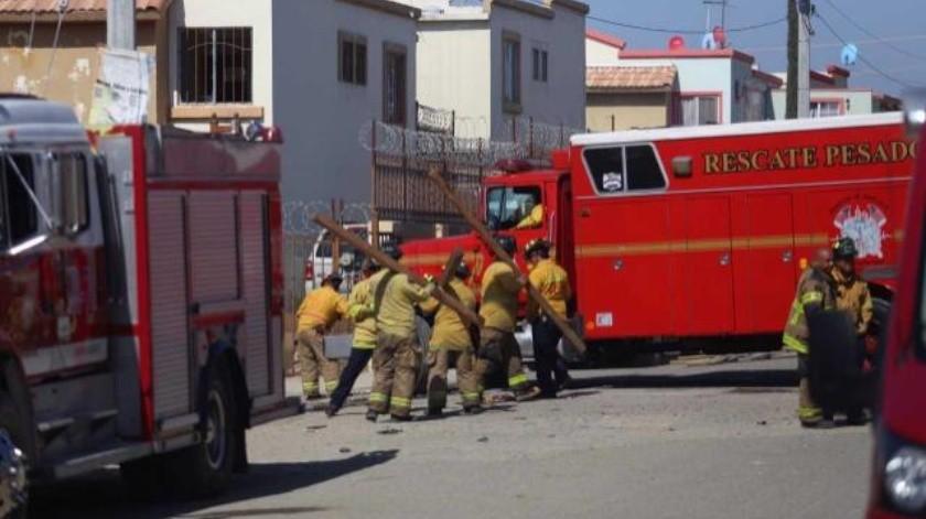 VÍDEO: Explosión en fraccionamiento Villas del Campo