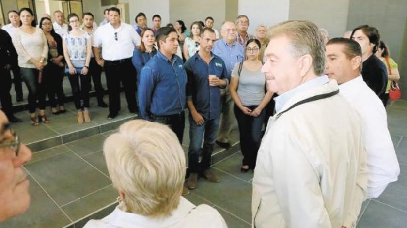 Revisa Gobernador  avances del Cciiaa  que iniciará este año
