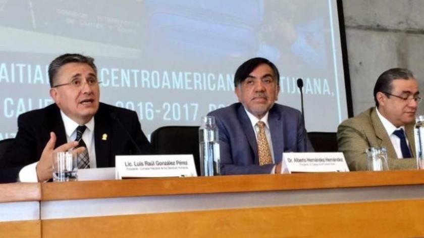 Condena presidente de la CNDH militarización de la Frontera Sur de México
