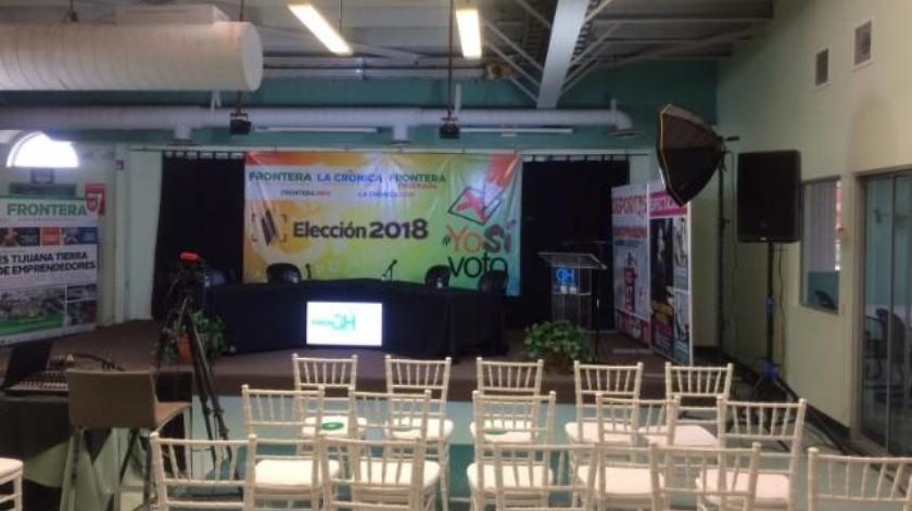 Participarán en foro electoral FRONTERA aspirantes al distrito 08